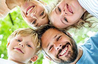 Familie in der Kur